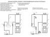 Схема монтажа котла для бани с баком для нагрева воды