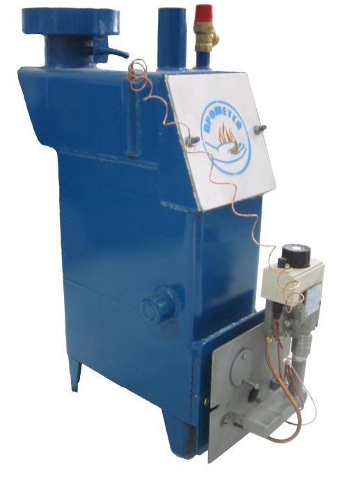 """Газовый котел """"Прометей"""" с инфракрасной горелкой с газовой автоматикой Евросит 630"""
