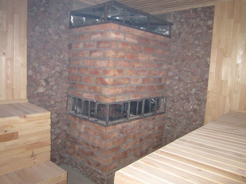Общественные бани с котлами и печью каменкой Прометей