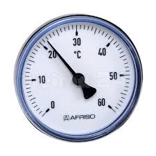 "Афризо термометр 63 K  40 мм. Bith 0-120"""