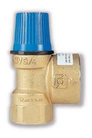Предохранительный клапан SV 6.0 бар 1/2х3/4дюмймов