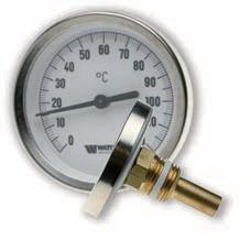 "Термометр 63, аксиально 0-120"" 63/50 мм."
