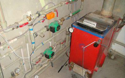 Котел длительного горения 20 кВт